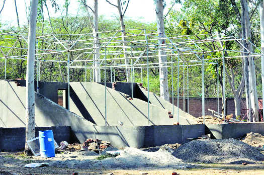 Renovation work at deer park begins