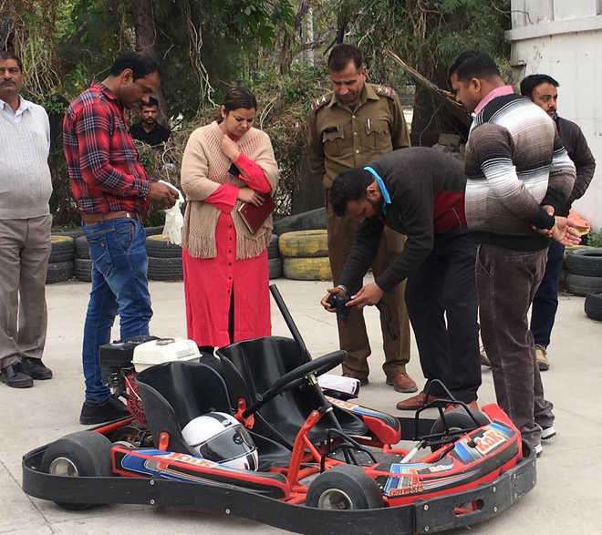 Go-karting operator booked after woman dies in freak accident