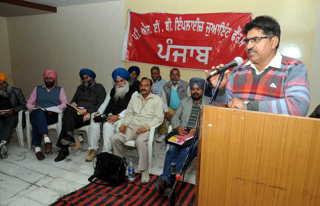 PSEB staff hold convention