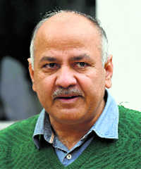LG refuses to discuss guest teachers' issue: Sisodia