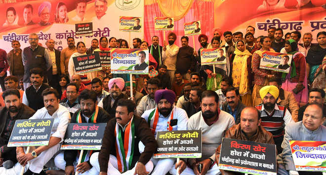 Cong opposes cash limit at Sampark centres