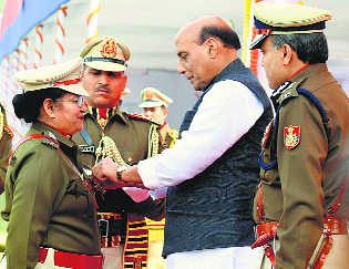 Rajnath lauds cops for arrest of IM terrorist