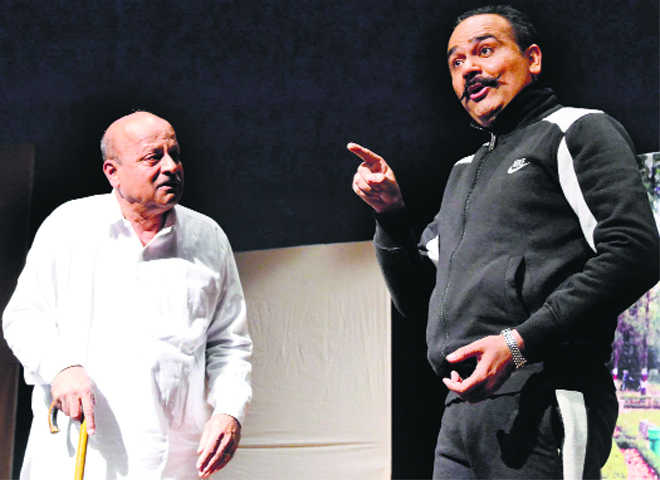 Play depicts senior citizens' plight