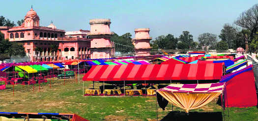 Sheesh Mahal geared up to host Heritage & Saras Mela