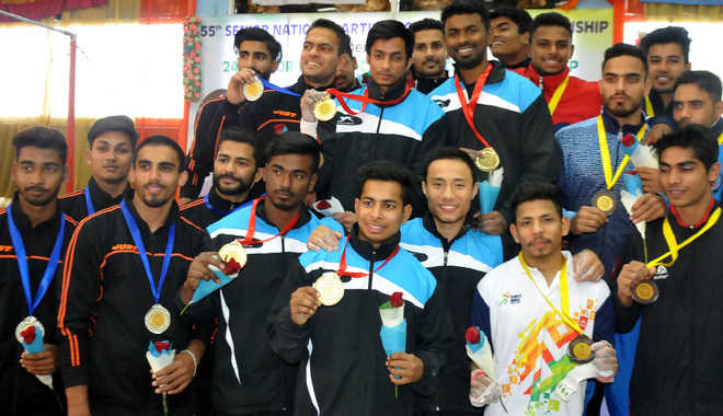 Railways, West Bengal gymnasts bag overall titles