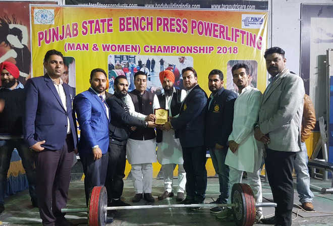 Parminder adjudged strongest man of Punjab
