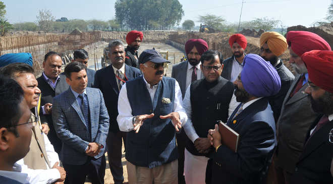 Badnore reviews addl water supply project