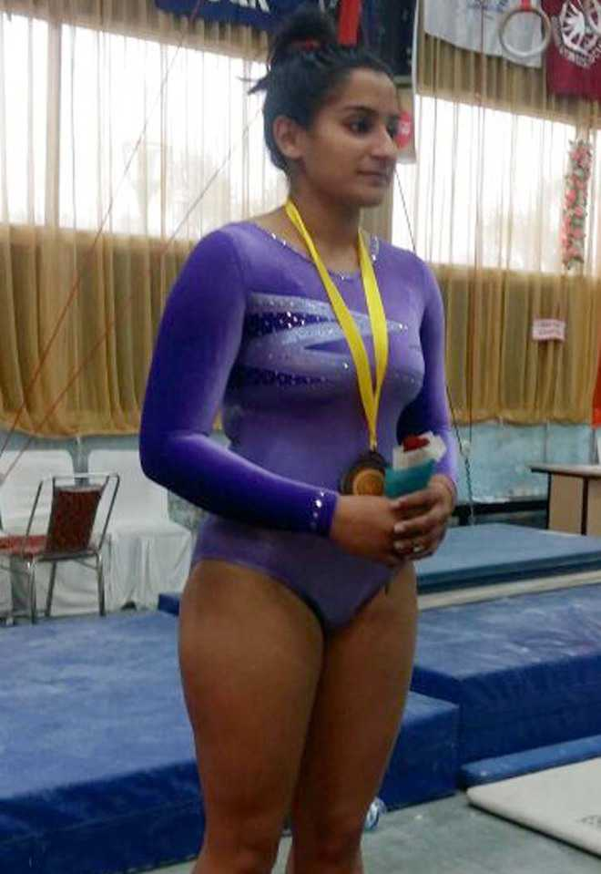 City gymnast Pankhuri shines