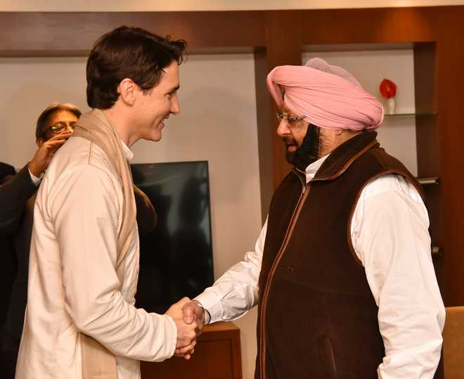 Canada does not support any separatist movement, Trudeau tells Punjab CM