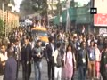 Rahul Gandhi conducts roadshow in Shillong