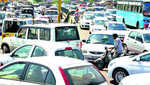 Traffic congestion at Fountain Chowk irks commuters