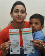 UIDAI goof-up: Twin Aadhaar for toddler