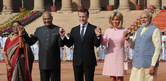 China on mind, India, France step up ties