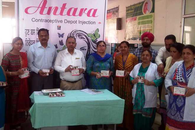 Injectable contraceptive scheme 'Antara' launched