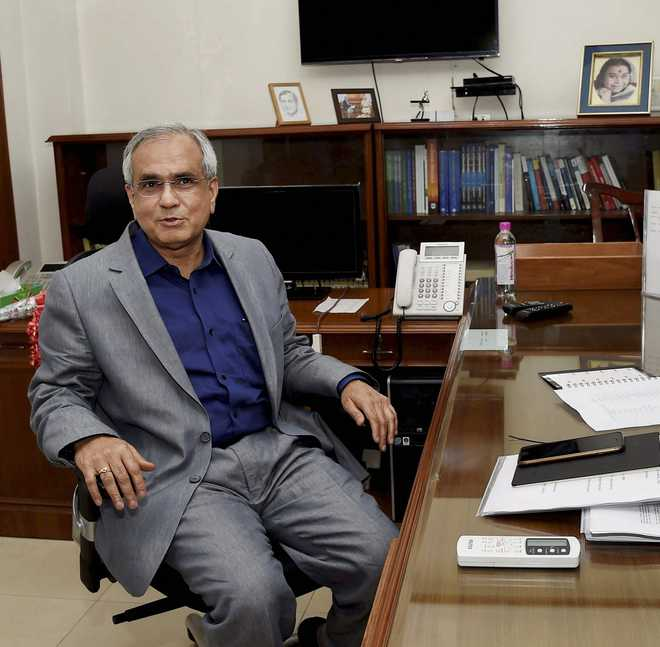 Gujarat lagging behind in health, education: Niti Aayog Vice-Chairman