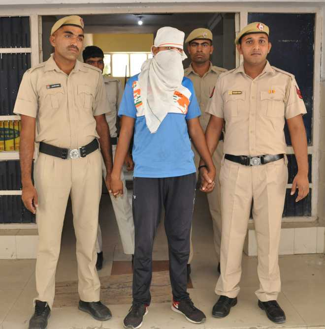 Sonepat youth held for 'providing' info to ISI
