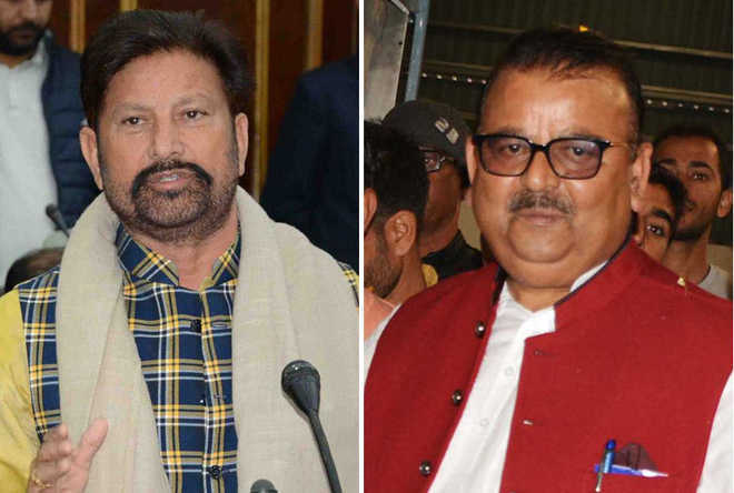 Guv accepts resignations of 2 BJP ministers