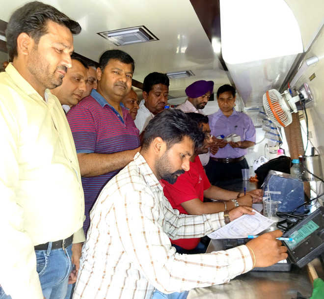 Drive to check adulteration