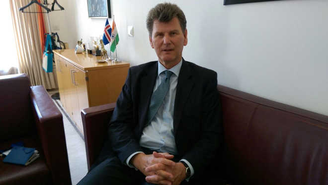 Banking crisis not a possibility in Iceland now, envoy tells Tribune