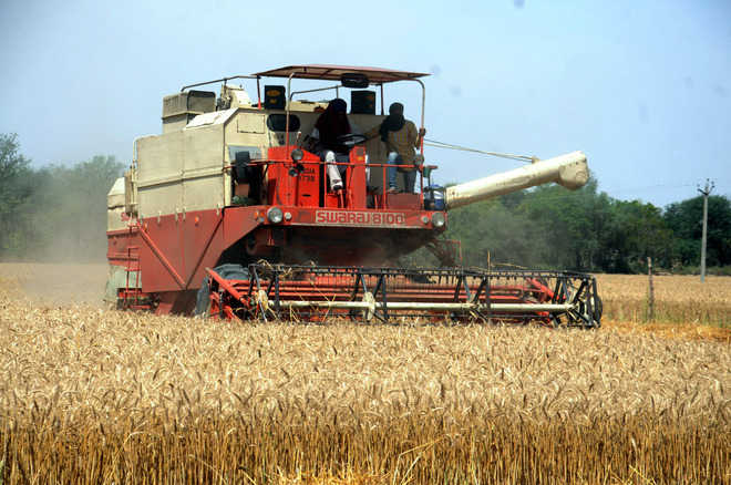 DC orders ban on use of combine harvesters from 7 pm to 9 am