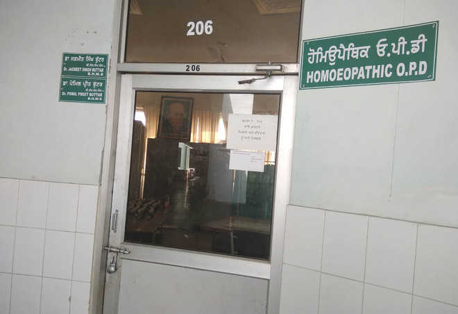 30% drop in number of patients visiting homoeopathy OPD