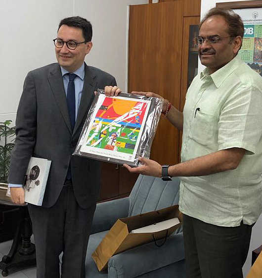 French envoy, UT officials discuss Smart City project