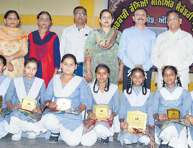 Prize distribution function held