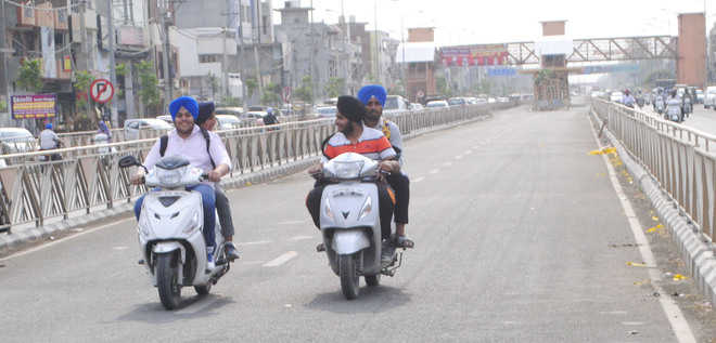 Residents use BRTS lane as thoroughfare in city