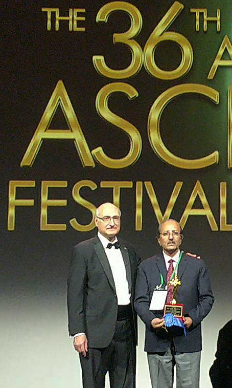 PGI Director awarded at conference in USA