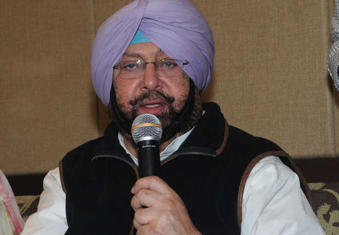 Amarinder opposes move to merge Chandigarh DSP cadre with other UTs