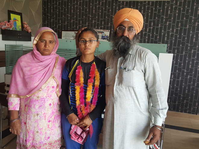 Faridkot girl stands third with 99.96 per cent
