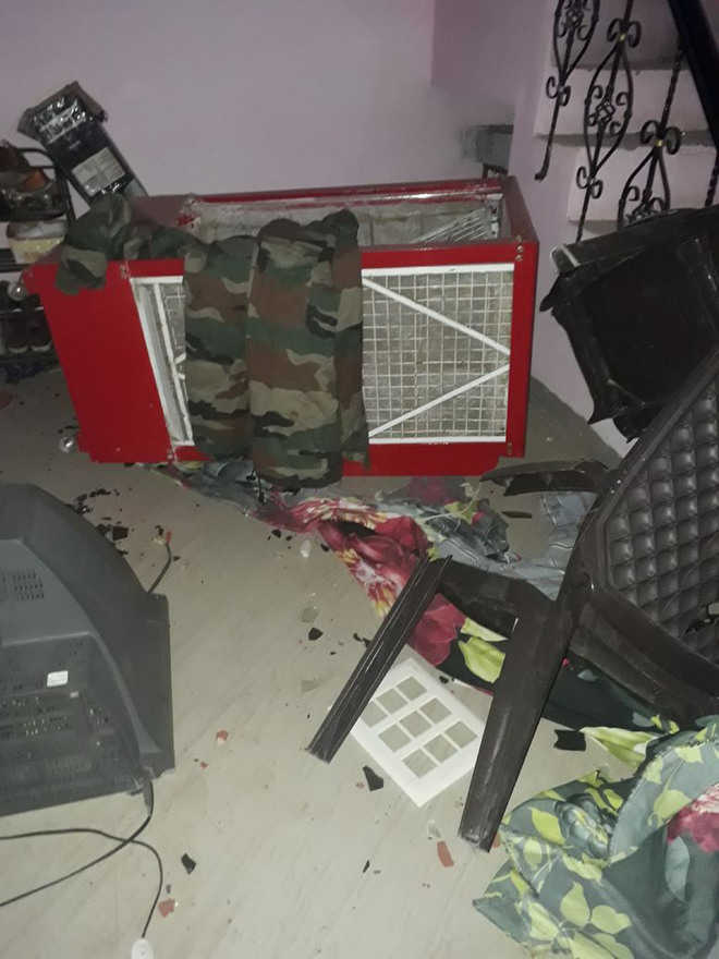 Video of Army men's ransacked house goes viral on social media