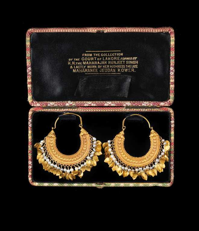 Last Sikh Queen's earrings fetch nearly 6 times auction estimate