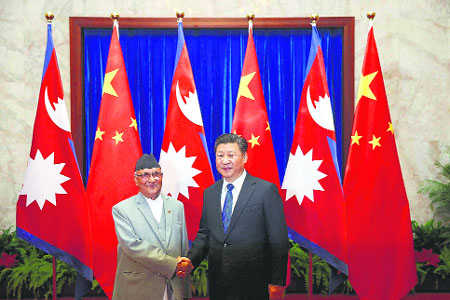 India, China and the Nepal transition