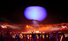 Artists perform during the closing ceremony. Reuters