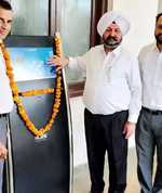 Information kiosk installed at Faridkot judicial complex
