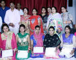 Shree Ram Sharnam felicitates trainees of vocational course