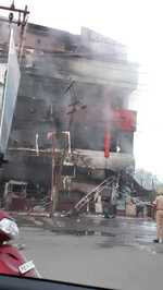 Fire breaks out at sweets shop in Patiala