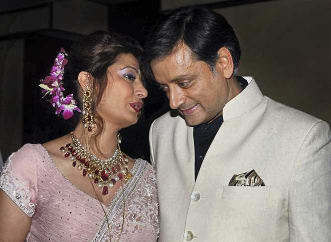 Shashi Tharoor charged in Sunanda death!