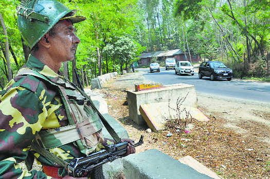 What army's 'restraint' in J&K means