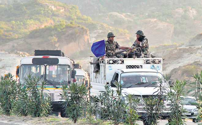 It is for J-K to make ceasefire a success
