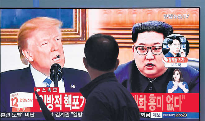 Trump-Kim summit in lurch