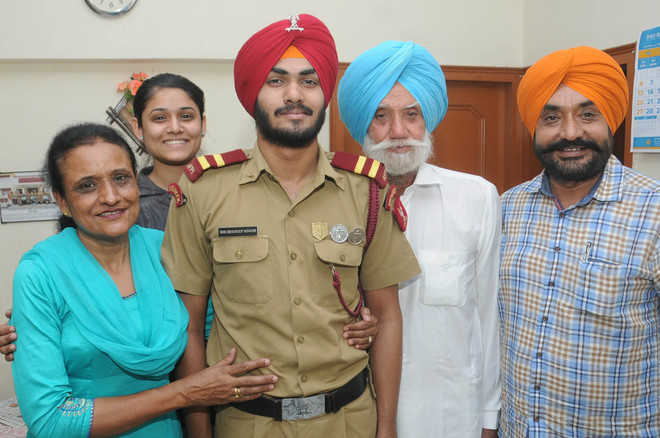 City boy secures AIR 35 in NDA exam