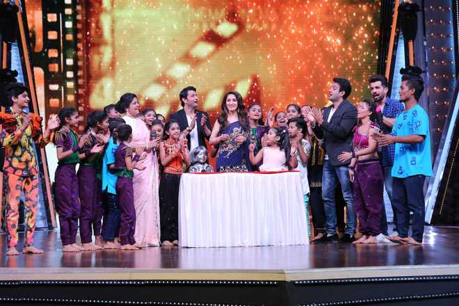 B-day surprise for Madhuri