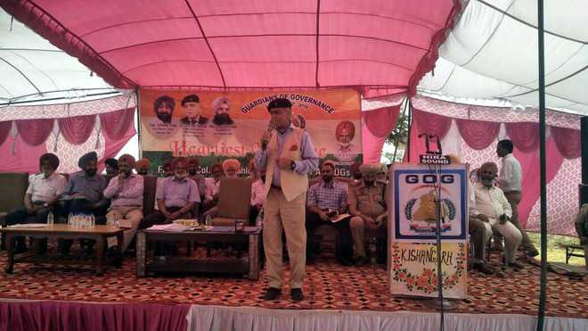 GoG keeps tab on state govt schemes: Lt Gen Shergill