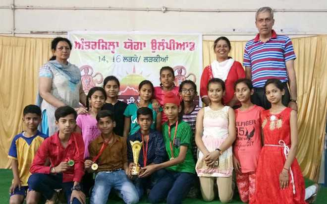 3 students from dist make it to National Yoga Olympiad