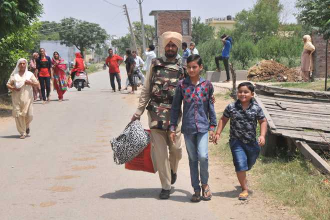 40,000 residents in J&K migrate amid escalating border tension