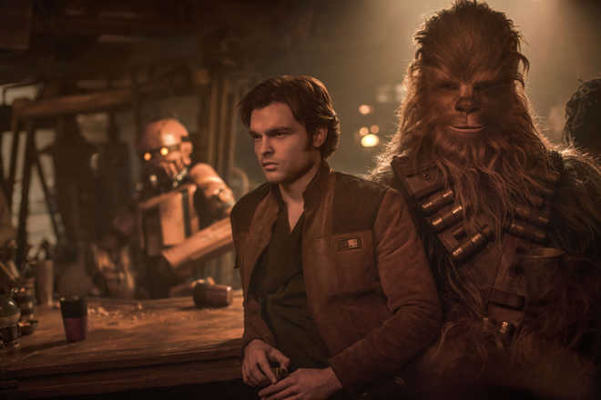A 'Solo' run-in with the past