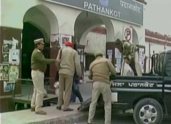9 used rocket launcher shells found in Pathankot lead to scare