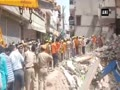 Several feared trapped after building collapses in Jodhpur